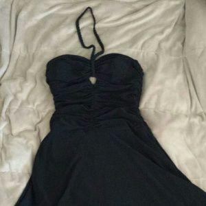 Laundry halter dress